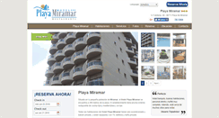 Preview of hotelplayamiramar.es
